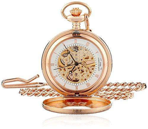 Charles Hubert Paris Rose Vergoldete mechanische Taschenuhr