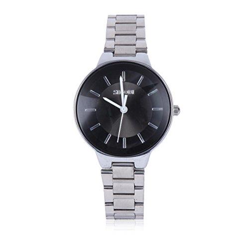 Damara Edelstahl Einfach Attraktiv Trendig Herrenarmbanduhr Armbanduhr