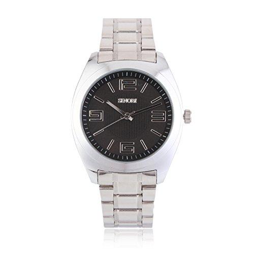 Damara Edelstahl Einfach Praktisch Business Gentleman Herrenarmbanduhr Armbanduhr