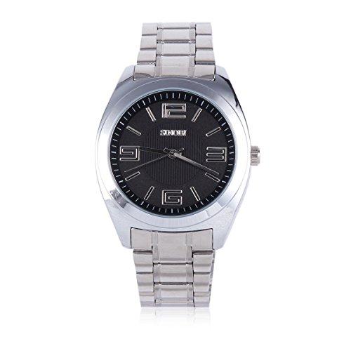Damara Edelstahl Huebsch Elegant Sportlich Herrenarmbanduhr Armbanduhr