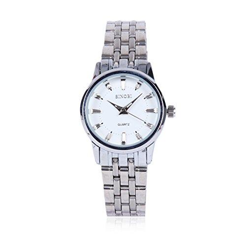 Damara Edelstahl Einfach Optisch Wunderschoen Damenarmbanduhr Armbanduhr