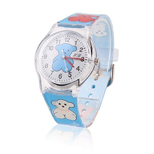 Damara Niedlicher Unisex Kinder Digital Baeren Armbanduhr