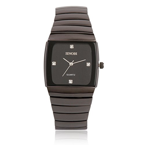 Damara Tungsten Quadrangel Klassisch Einfach Schick Herrenuhr Herrenarmbanduhr Armbanduhr