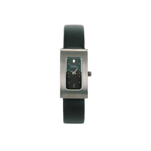 DeCave 101306023 Titan Damenarmbanduhr 30x16 mm Lederband Ronda 751 3 ATM