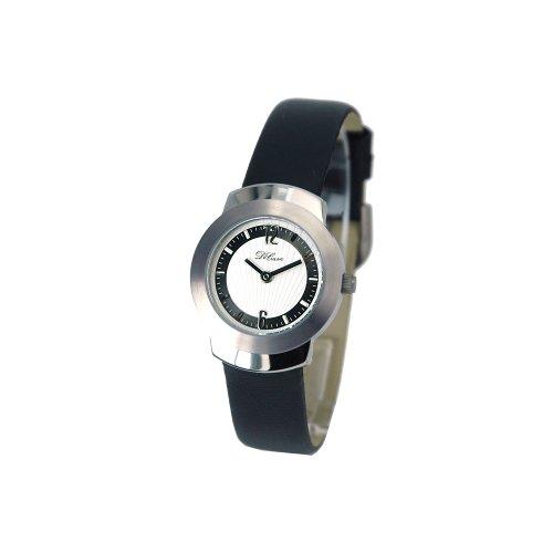 DeCave 102106011 Titan Damenarmbanduhr Lederband Miyota 1L22 5 ATM