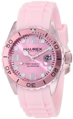 Haurex Italy Damen-Armbanduhr Ink Analog Silikon 1K374DP1