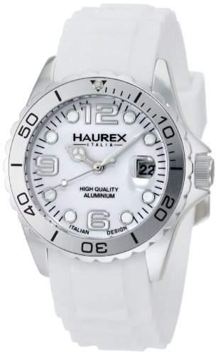 Haurex Italy Damen-Armbanduhr Ink Analog Silikon 1K374DWW