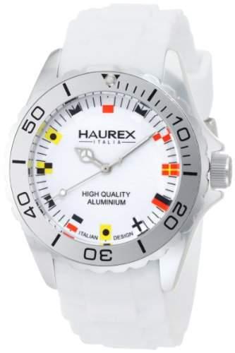 Haurex Italy Herren-Armbanduhr XL Ink Analog Silikon 1K374UWF