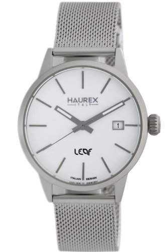 Haurex Italy Damen-Armbanduhr Leaf Analog Edelstahl 2A363DW1