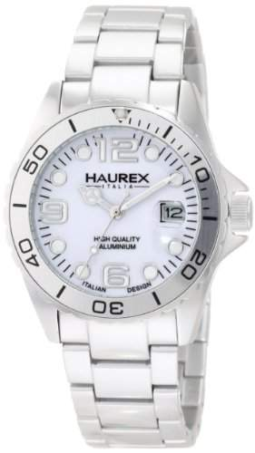 Haurex Italy Damen-Armbanduhr Ink Analog Aluminium 7K374DWW