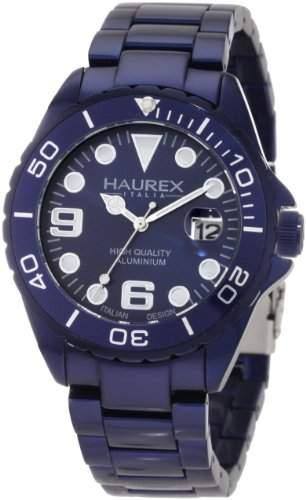 Haurex Italy Herren-Armbanduhr XL Ink Analog Aluminium 7K374UB3
