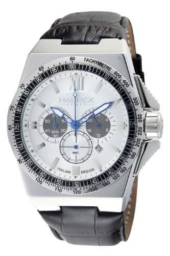 Haurex Italy Herrenuhr Chronograph Quarz 9A340USG