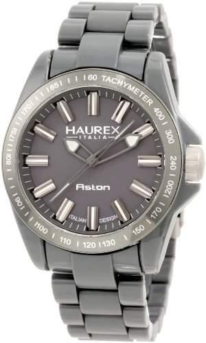 Haurex Italy Herren-Armbanduhr XL Aston Analog Plastik G7366UGG