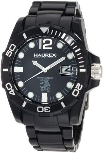 Haurex Italy Herren-Armbanduhr XL Caimano Analog Plastik N7354UNN