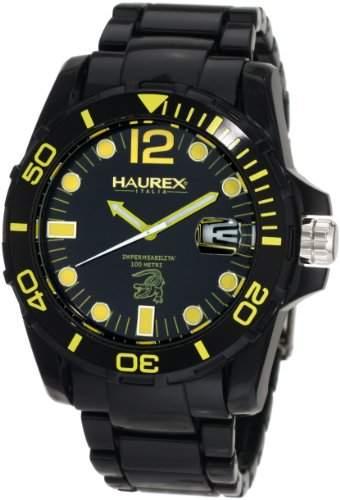 Haurex Italy Herren-Armbanduhr XL Caimano Analog Plastik N7354UNY