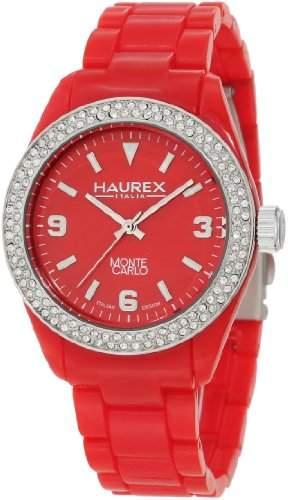 Haurex Italy Damen-Armbanduhr Montecarlo Analog Plastik PR360DR1