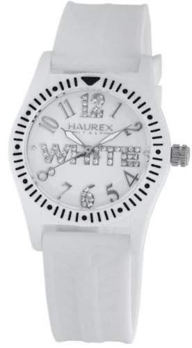 Haurex Italy Maedchen-Armbanduhr Promise G P Analog Kautschuk PW331DW1