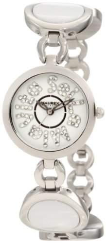 Haurex Italy Damenuhr Seila Mia Vita White Dial Ceramic Watch #XA349DWW