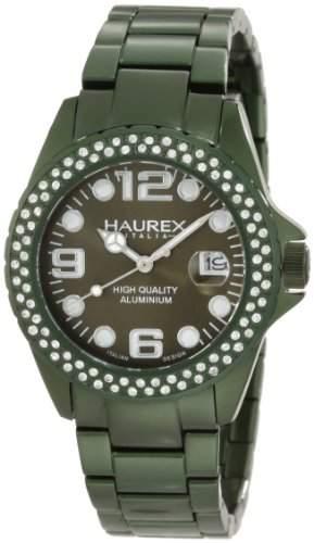 Haurex Italy Damen-Armbanduhr Ink Stones Analog Edelstahl XK374DVV