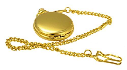 Taschenuhr TU22 Goldoptik Modeschmuck KOSTENFREIER VERSAND von Kobert Goods