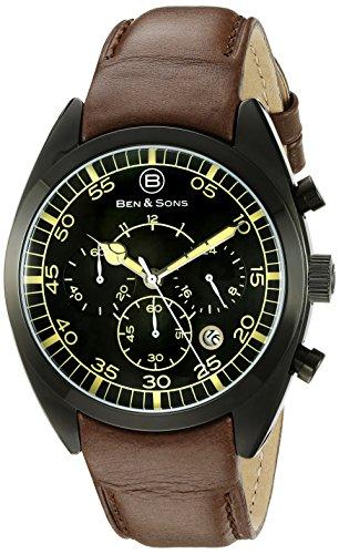 Ben Sons Herren Armbanduhr BS 10005 BB 01