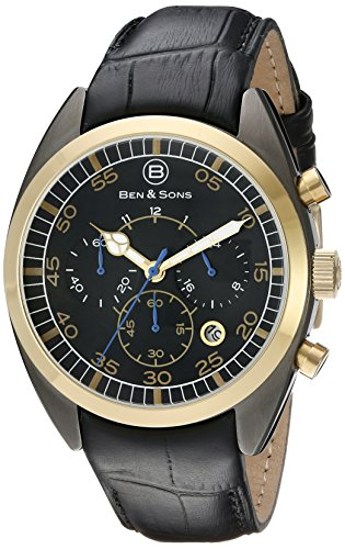 Ben Sons Herren Armbanduhr BS 10005 GM GB 01