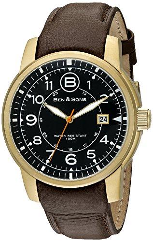 Ben Sons Herren Armbanduhr BS 10006 AN 01 OA BRS