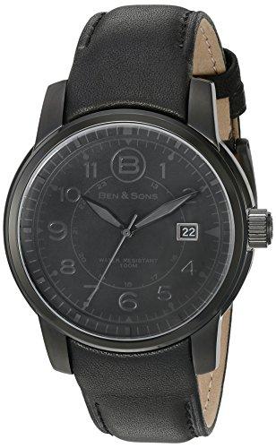 Ben Sons Herren Armbanduhr BS 10006 BB 01 GA
