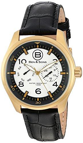 Ben Sons Herren Armbanduhr BS 10010 AN 02S