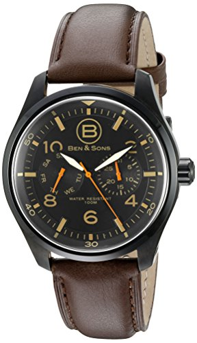 Ben Sons Herren Armbanduhr BS 10010 BB 01