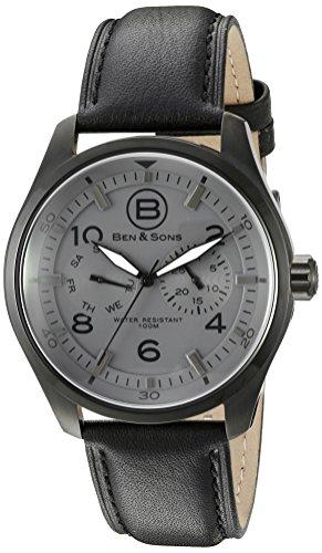 Ben Sons Herren Armbanduhr BS 10010 BB 014