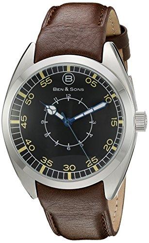 Ben Sons Herren Armbanduhr BS 10014 01 CWBA BRS