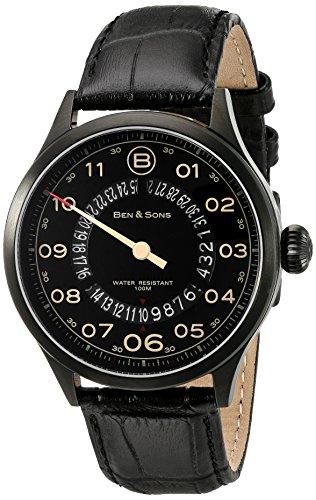 Ben Sons Herren Armbanduhr BS 10017 BB 01 BGA