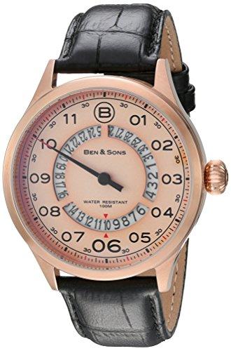 Ben Sons Herren Armbanduhr BS 10017 RG 016