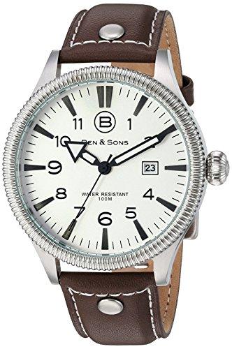 Ben Sons Herren Armbanduhr BS 10019 02 BRW