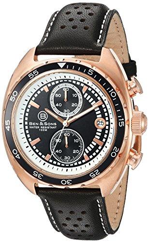 Ben Sons Herren Armbanduhr BS 10021 RG 01