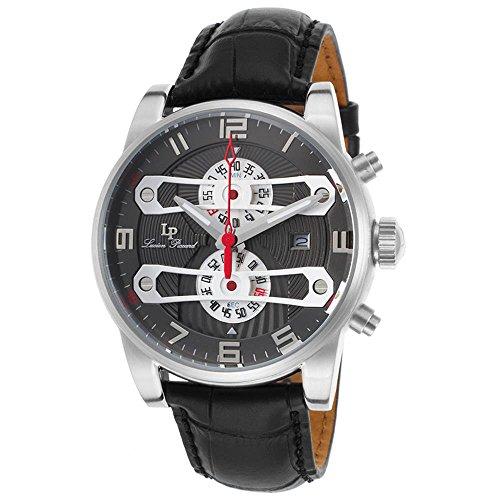 Ben Sons Voyager Herren Armbanduhr 46mm Armband Edelstahl Gehaeuse Quarz Zifferblatt Silber 10014 022S