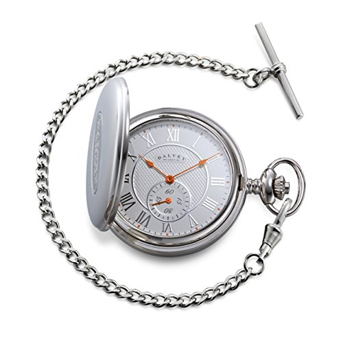 Skeletal Half Hunter Pocket Watch Taschenuhr Dalvey