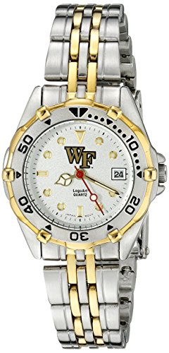 Wake Forest Daemon Diakone Damen All Star Watch Edelstahl Armband
