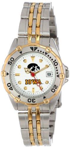 Iowa Hawkeyes Damen All Star Watch Edelstahl Armband