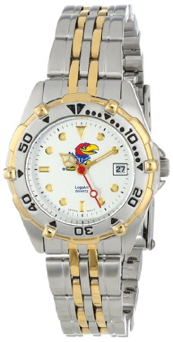 Kansas Jayhawks Damen All Star Watch Edelstahl Armband