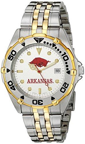 Kansas Jayhawks Herren All Star Watch Stainless Steel Bracelet UAR103