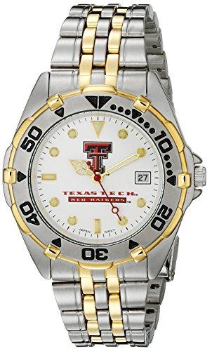 Texas Tech Red Raiders Herren All Star Watch Edelstahl Armband