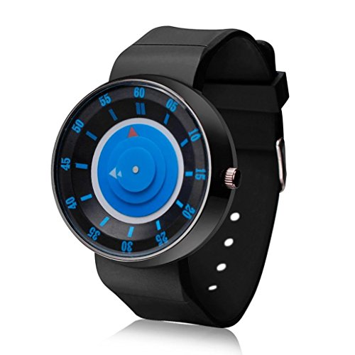 Uhr Herren Kolylong Herren Sonder Analog Quarz Sport Armbanduhr Blau