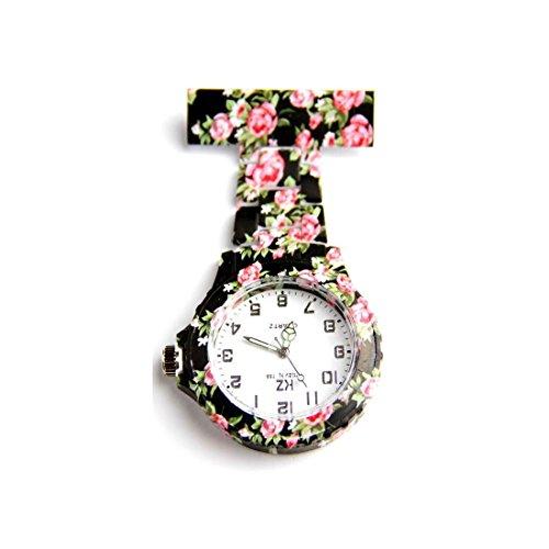 KZ Folies Collection Uhr Krankenschwester PVC mit Blueten KZ 49