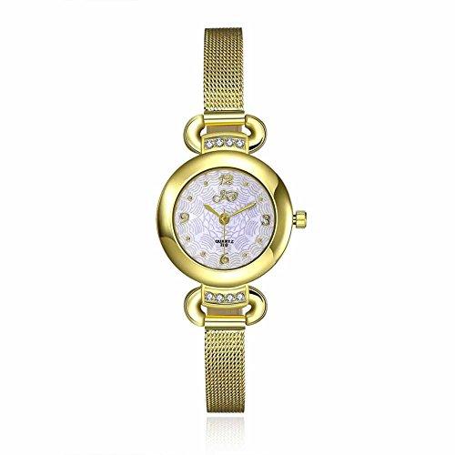 Armbanduhren Metall Modeschmuck Uhr Damen Leto Gold Geschenk Damen