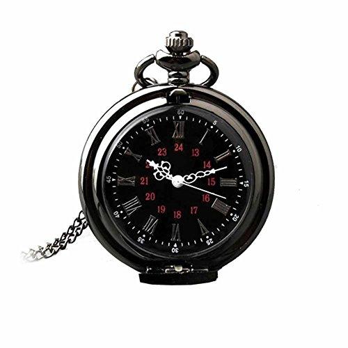 Taschenuhren Metall Modeschmuck Uhr Damen Bell Schwarz Geschenk Damen