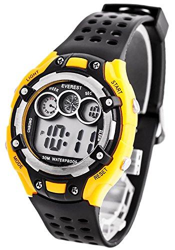Digitale EVEREST Armbanduhr fuer Kinder mit Stoppuhr Alarm Licht nickelfrei ZK764C 2
