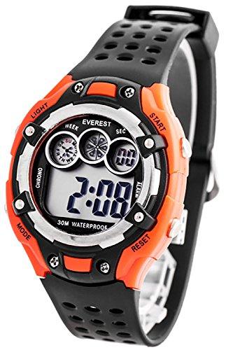 Digitale EVEREST Armbanduhr fuer Kinder mit Stoppuhr Alarm Licht nickelfrei ZK764C 3