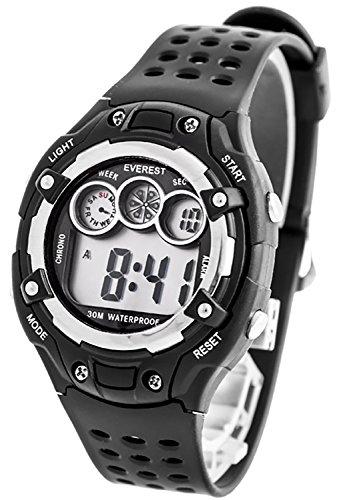 Digitale EVEREST Armbanduhr fuer Kinder mit Stoppuhr Alarm Licht nickelfrei ZK764C 1
